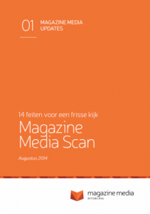 Magazine Media Scan cover NL