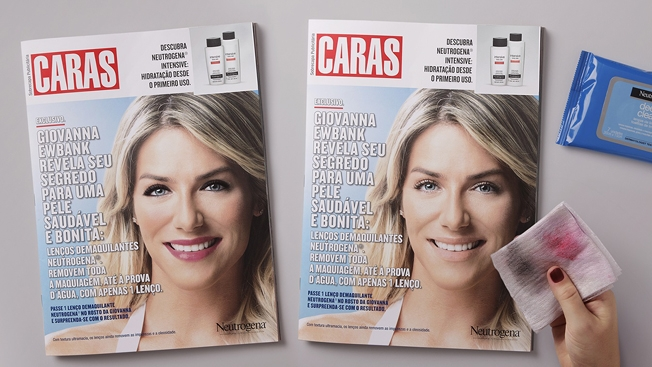 Neutrogena ad in Caras magazine