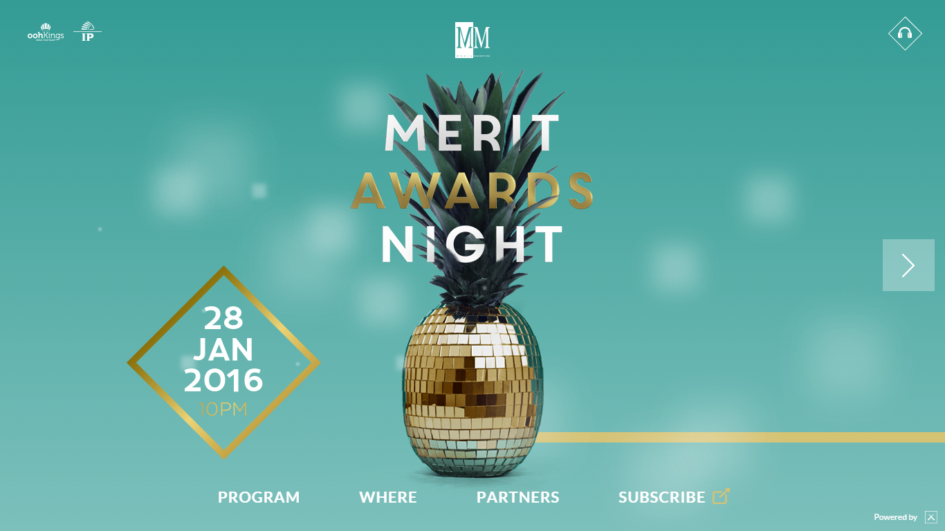 Merit Awards 2016