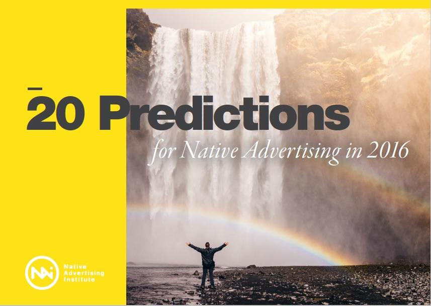 20 predictions for native advertising