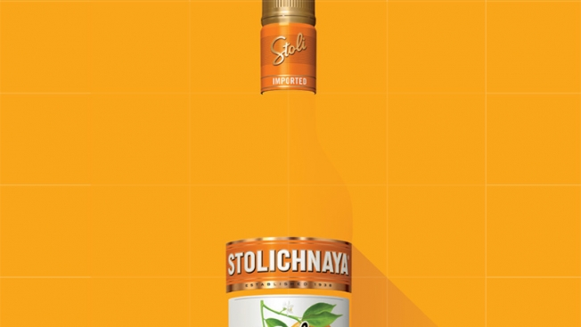 Stolichnaya ad in Playboy