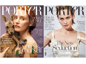 Porter covers Spring&Summer 2016