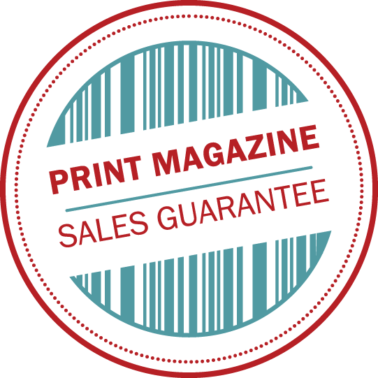 Print Magazine Sales Guarantee logo