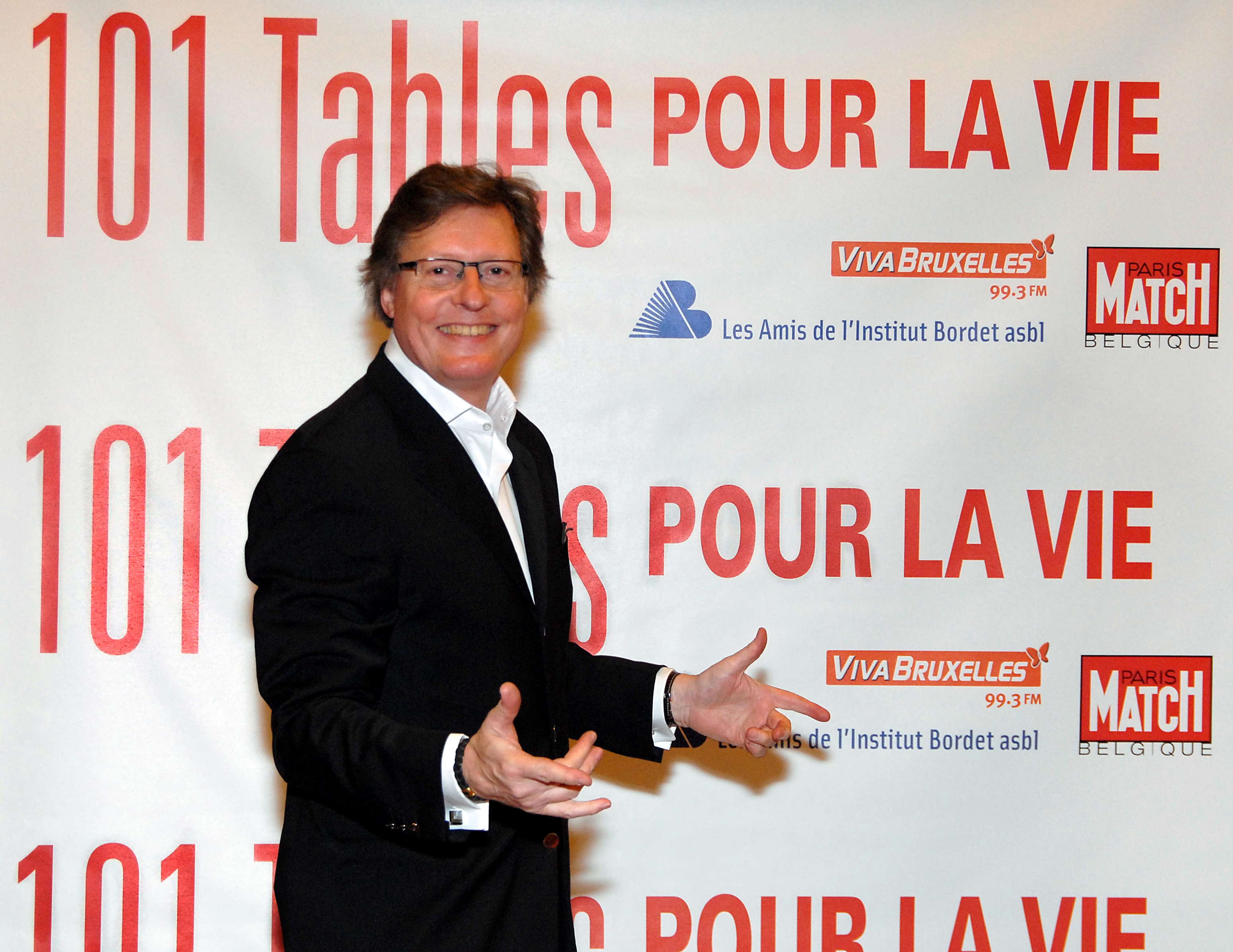 Jean-Pierre Tordeurs - Paris Match - 101 Tables