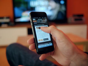 Second screen mobile/tv