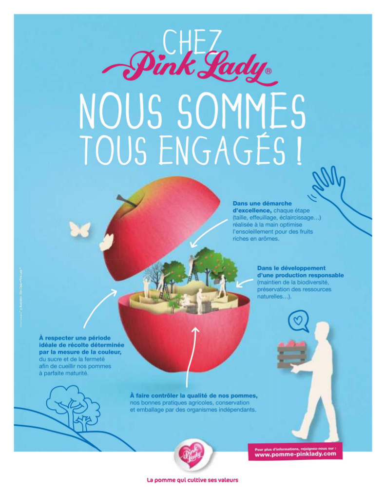 Pink Lady campagne