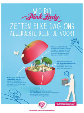 Pink Lady advertentie