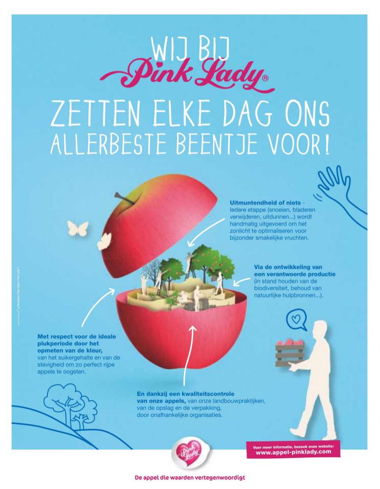 Pink Lady advertentie