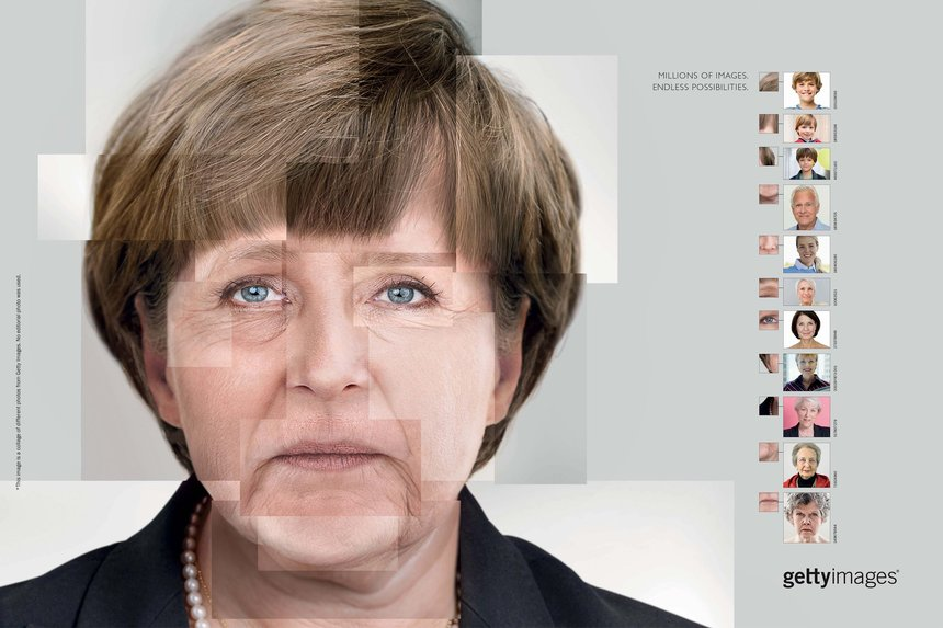 Getty Images Frau Merkel ad
