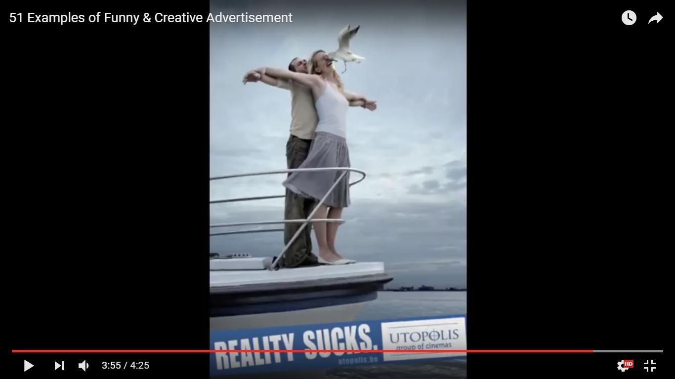 Creative magazine ads - Utopolis