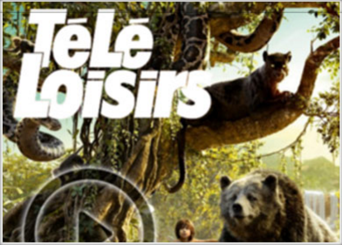 Disney Jungle Book in Tele Loisirs