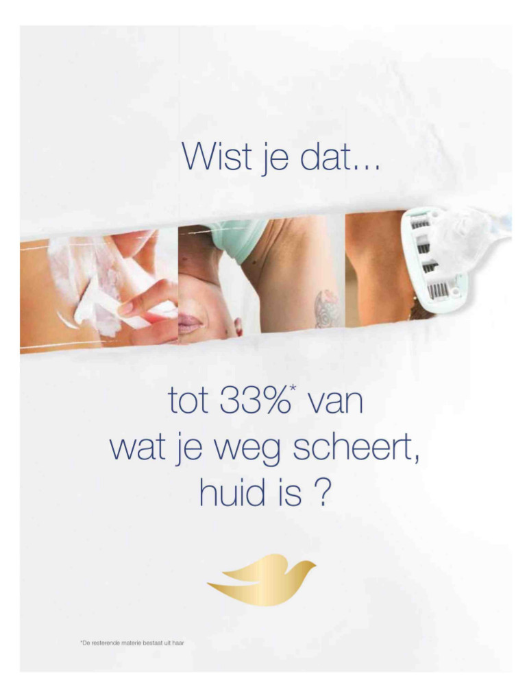 Dove advertentie