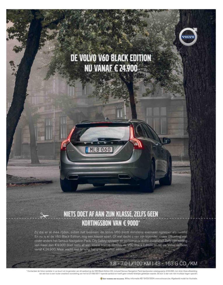 Volvo advertentie Knack