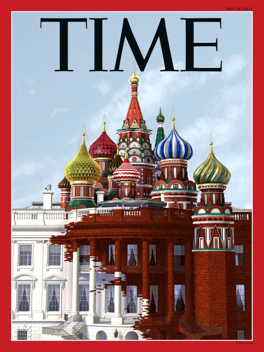 Time cover Russia White House