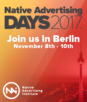 Native Advertising Days 2017