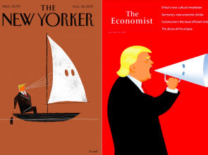 Trump racist covers