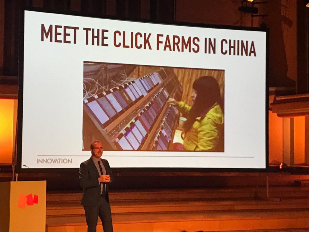 Juan Senor: meet the click farms