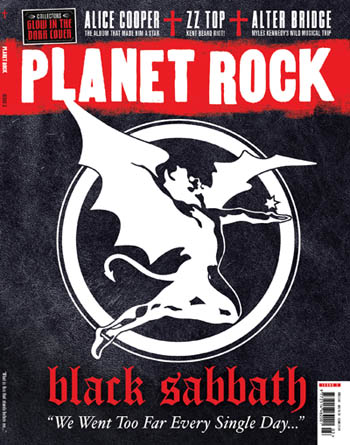 Planet Rock Black Sabbath issue
