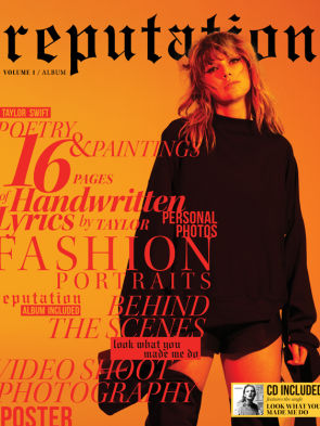 Taylor Swift Reputation Magazine