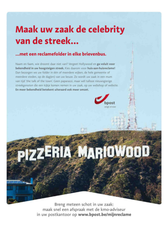 bpost advertentie