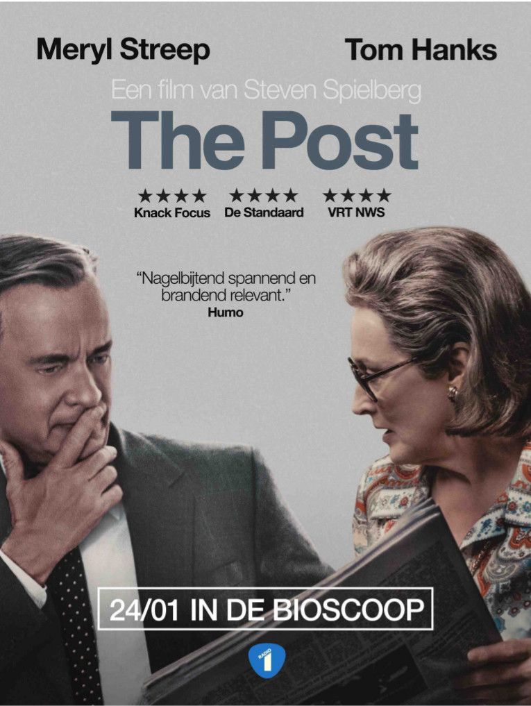 The Post - filmadvertentie