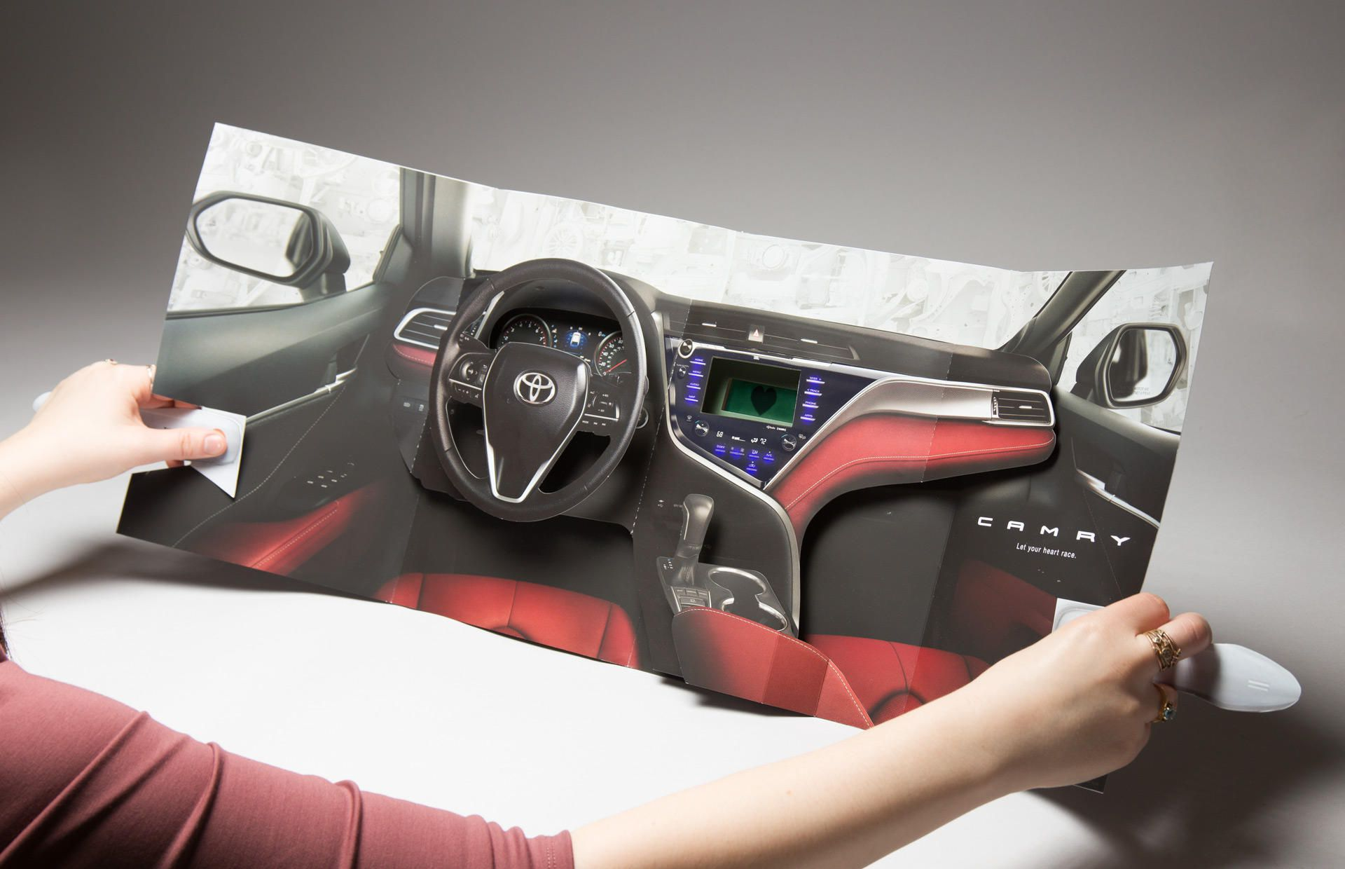 Toyota Camry ad InStyle magazine
