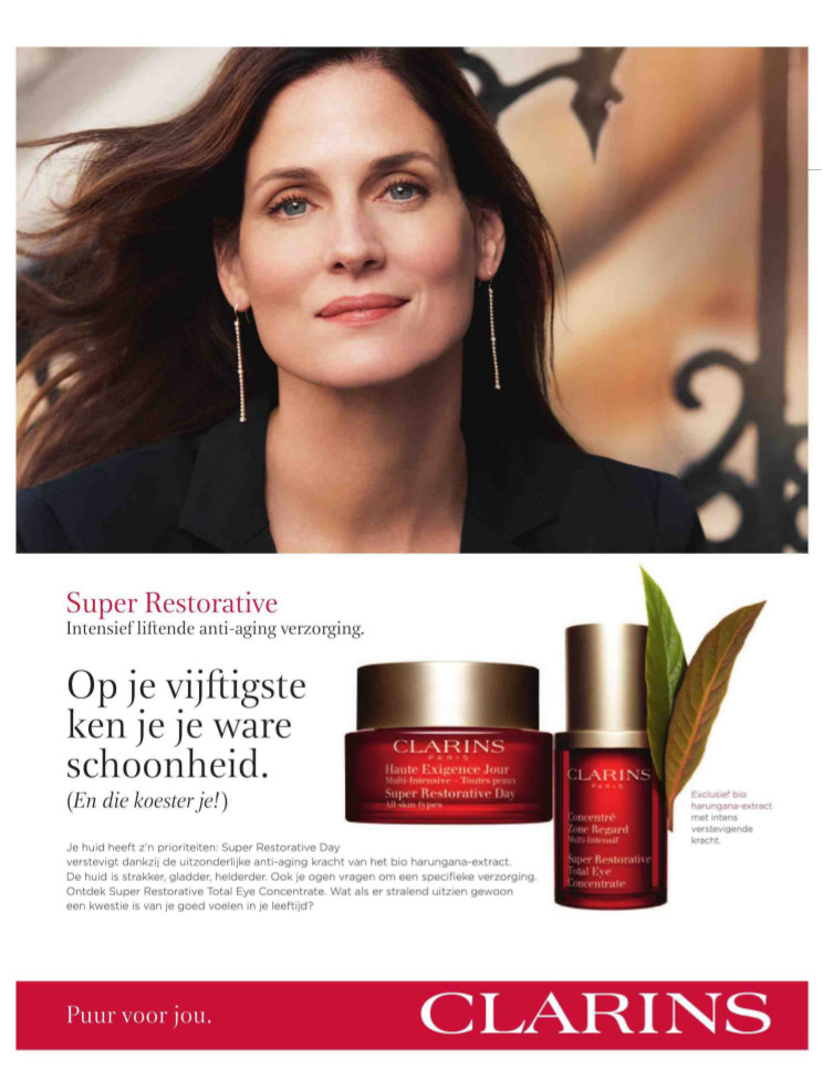 Advertentie Clarins