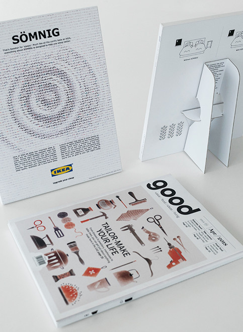 IKEA ad in Good Magazine