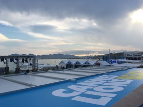 Cannes Lions beach