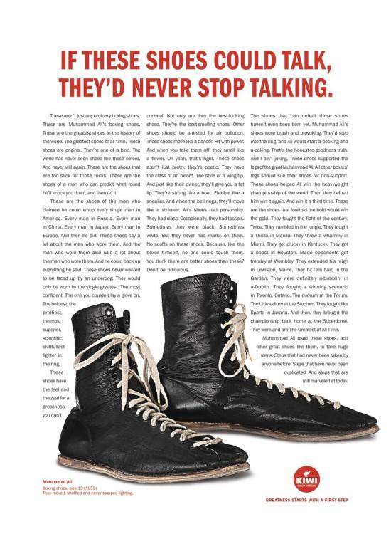 Kiwi shoe polish campaign Cannes Lions