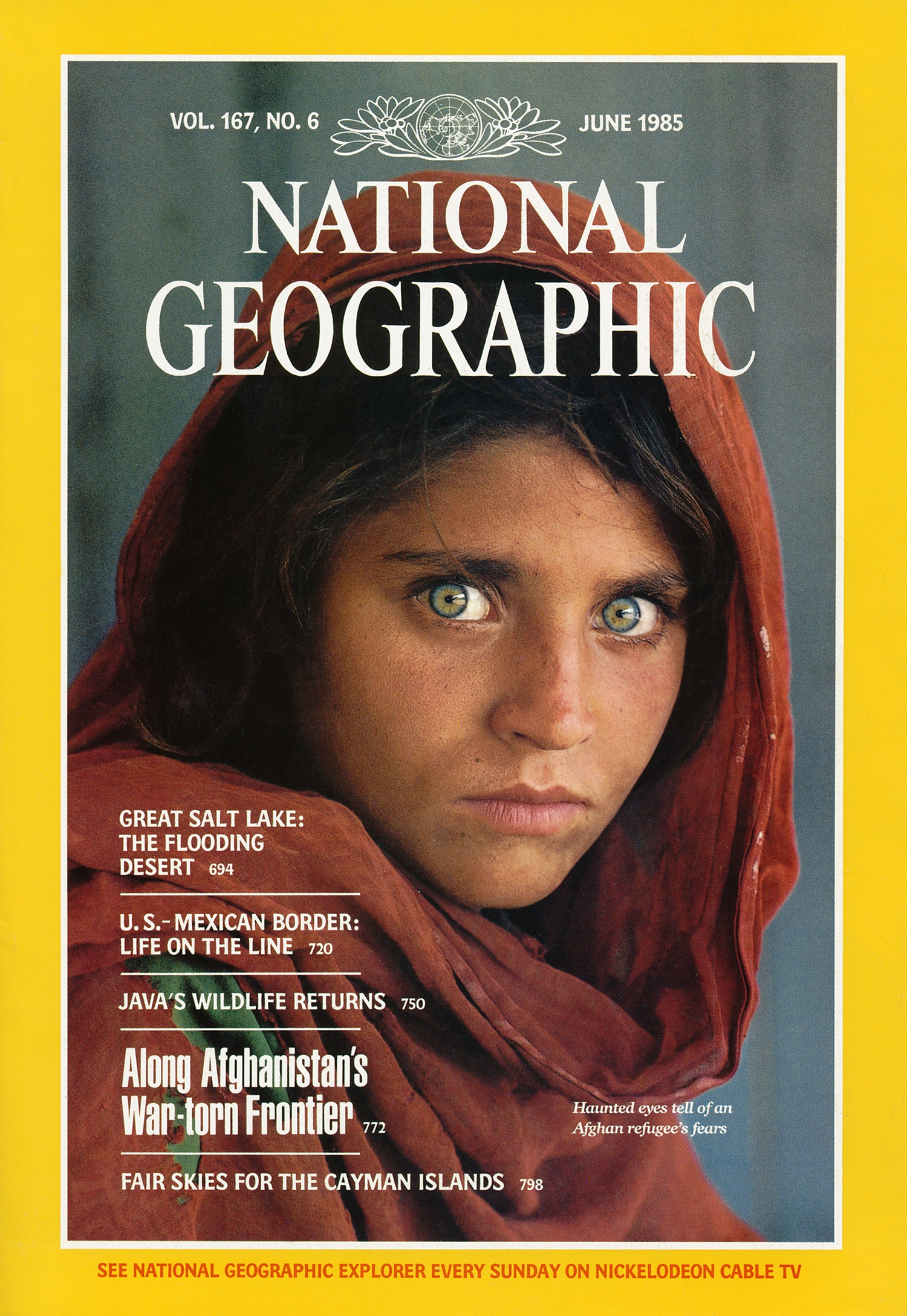Cover National Geographic Afghanistan
