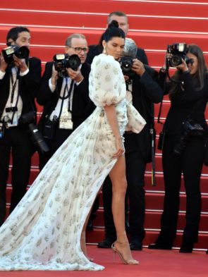 Millennial influencers: Kendall Jenner in Cannes
