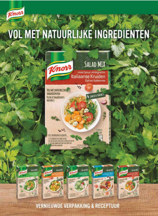 Knorr salad mix ad