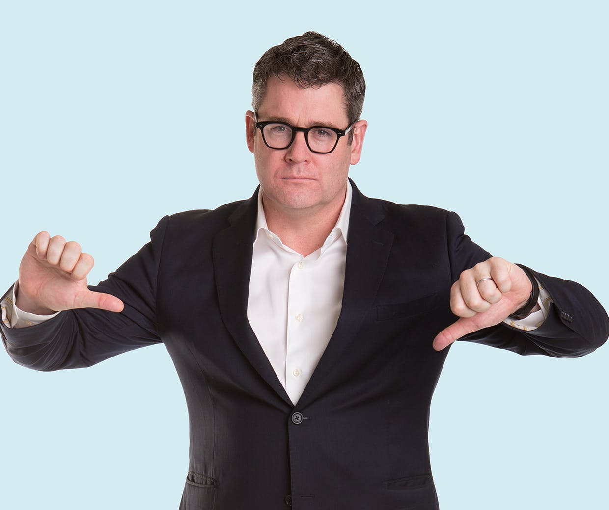 Mark Ritson - thumbs down