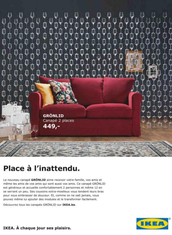Pub IKEA: Place a l'inattendu