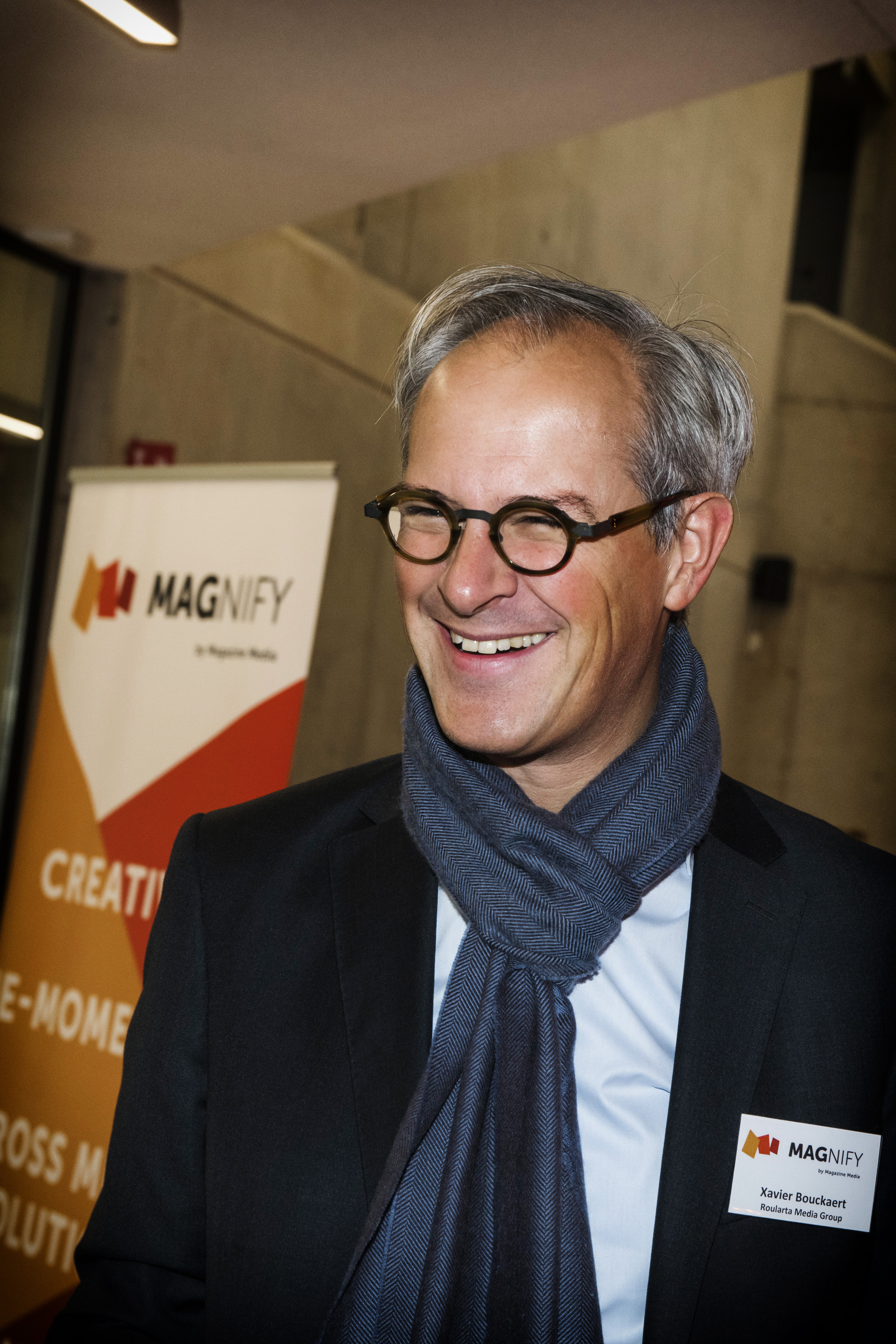 Xavier Bouckaert, Roularta Media Group