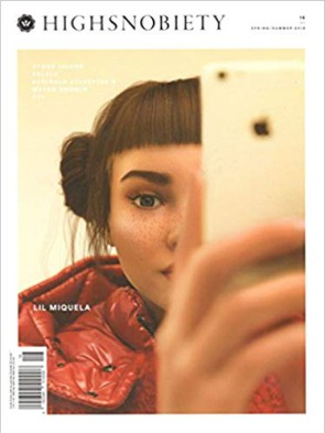 Highsnobiety cover with Lil Miquela