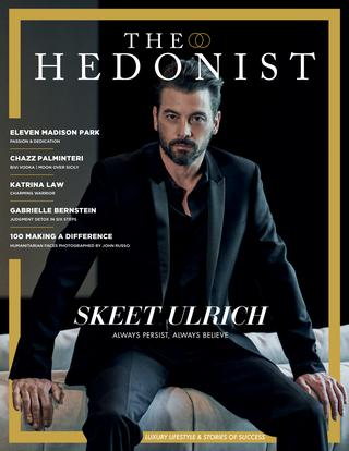The Hedonist cover no 04 - Skeet Ulrich
