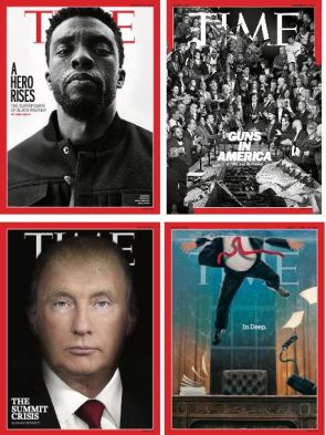 TIME Magazine provocative covers