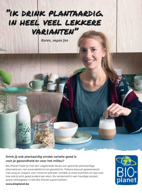 Bioplanet advertentie Libelle