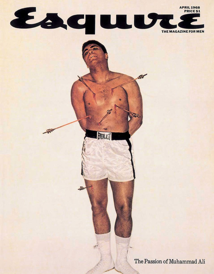 Esquire cover - The Passion of Muhammed Ali