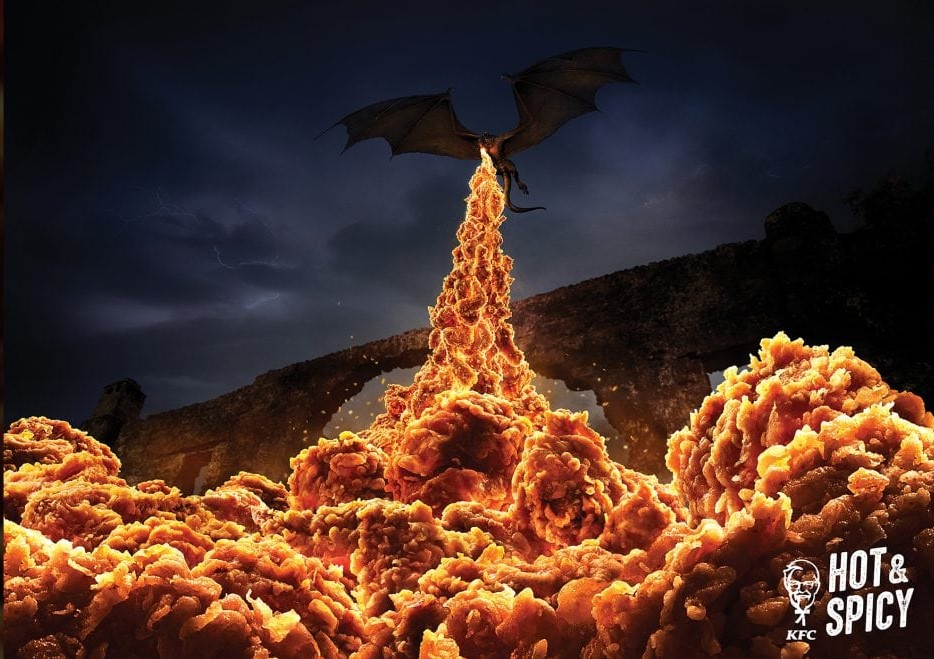 KFC Spicy Game of Thrones ad