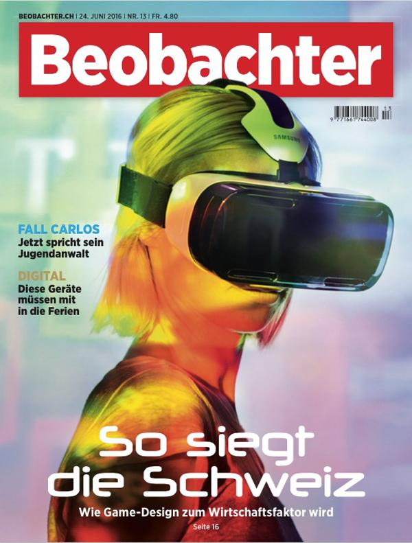 Beobachter magazine cover
