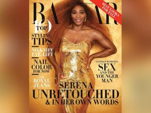 Serena Williams unretouched on cover Harper's Bazaar