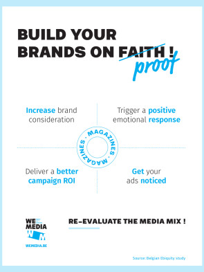 Ad Build your brands on proof