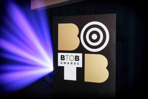 B2B Awards logo