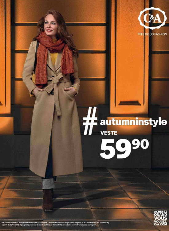 C&A advertentie Femmes