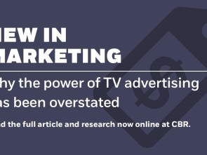 Why the power of TV advertising has been overstated