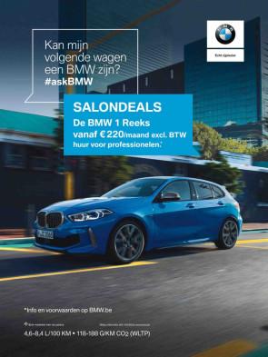 BMW serie 1 advertentie in Plus
