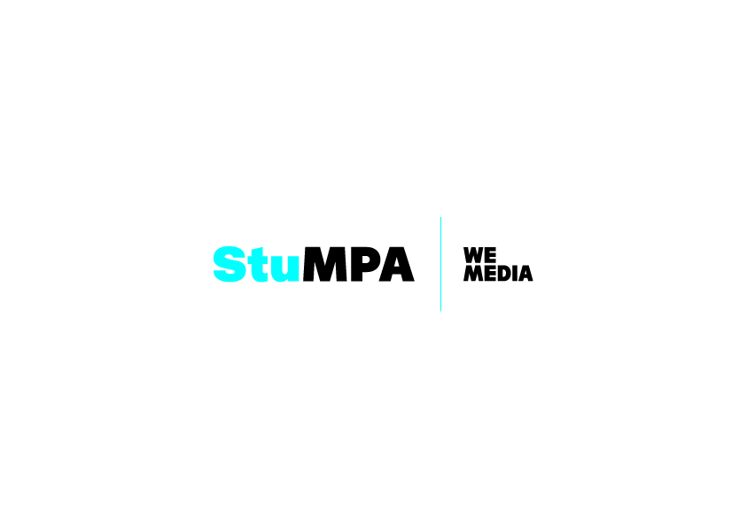 StuMPA logo WE MEDIA